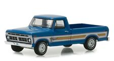 Greenlight 1/64 1976 Ford F-100 Bicentennial Edition Options Group Blue 29966