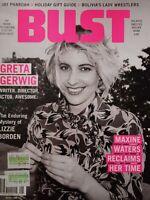 Greta Gerwig Bust Womens Magazine Issue Dec/Jan 2018 Maxine Waters Lizzie Borden