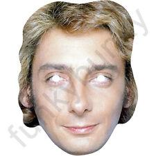 BARRY MANILOW anni 1980 Retro Celebrità Maschera di carta-tutte le nostre Maschere sono pre-tagliati!