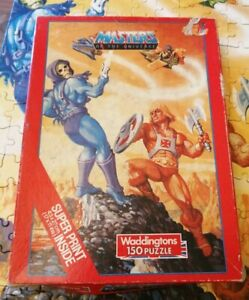 WADDINGTONS HE-MAN MASTERS OF THE UNIVERSE 150 PIECE JIGSAW & POSTER COMPLETE