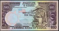 2002 SAMOA 10 TALA BANKNOTE * G 201485 * UNC * P-34a *