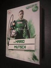 36270 Mario Mutsch FC St Gallen original signierte Autogrammkarte