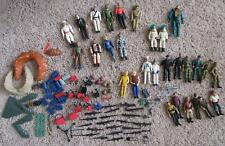 Vintage Lot Of Mixed Figs - A-Team, Sgt. Rock, Remco, Etc w/ acc's