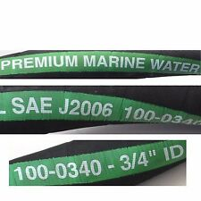 "MPI series 100  HARDWALL 3/4 "" ID MARINE WATER HOSE Wire Reinforced  by the Foot"