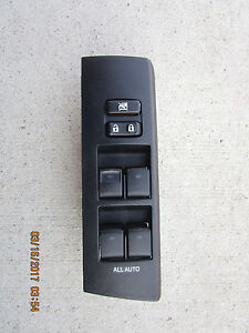 15- 19 TOYOTA 4RUNNER LIMITED SR5 4.0L V6 MASTER POWER WINDOW SWITCH 84040-35080