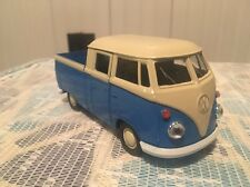 Welly DieCast Modelcar 1/36-39 VW Volkswagen T1 Double Cabin Pick up blue white