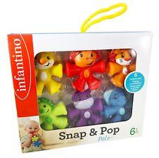 Infantino Snap Pop Pals - Brand New!