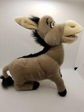 "Shrek 2 Donkey Plush Stuffed Animal DreamWorks Nanco 2004 Retired 11"" medium sz"