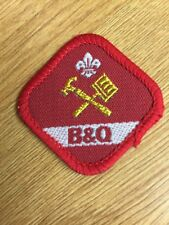 U K Scout Proficiency Service Badge. 1991-2001, DIY, B&Q Sponsored