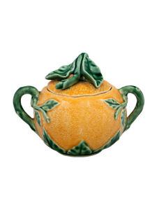 Sugar Box Orange - Bordallo Pinheiro - Made in Portugal Gift