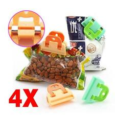 4Pcs Food Storage Bag Plastic Sealing Clip Snack Sealer Clamp Kitchen Tool Z