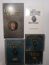 Baldur's Gate Baldur's Gate 2 With Manual And Quick Reference Card For PC Games