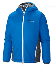 NWT COLUMBIA TITANIUM PRIMA HIKER JACKET LARGE HYPER BLUE OMNIHEAT LIGHT WEIGHT