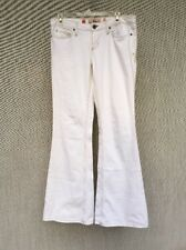 Vintage Juicy Couture Jeans  Sz 29 White Embroidered Butterfly NWOT