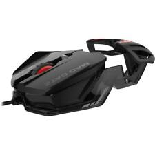 MAD CATZ RAT 1 WIRED OPTICAL LED PC GAMING MOUSE - BLACK & RED - NEW & SEALED