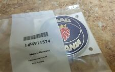 Genuine SAAB 9-5 Saab-Scania Rear Emblem Badge (99-05 SportCombi) NEW 4911574