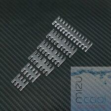 Transparent Slot Cable Comb Set 4mm Cables Choose 10 - Leave Message at Checkout