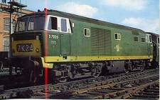 Hymek Class 35 Diesel Locomotive D7009 Swindon Works 1964 unused postcard