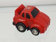 Vintage **RED** 74 1983 Transformers G1 Bumblebee Minibot Complete Hasbro Takara