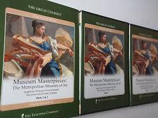 Museum Masterpieces~Metropolitan Museum~Teaching Company~4 Dvd Book Complete Set