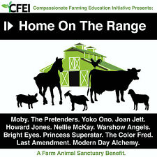 Home On The Range Farm Animal Benefit MOBY YOKO ONO PRETENDERS JOAN JETT CD NEW