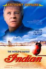 THE WORLD'S FASTEST INDIAN Movie POSTER 27x40 B Anthony Hopkins Lana Antonova