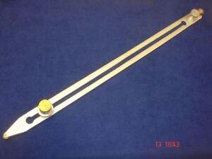 Long Bar Scriber for Vinyl Flooring Tool 475mm Brass Rollers