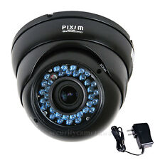 Security Camera Dome Weatherproof Pixim Dps Wdr Ir Day Night High Resolution bmt