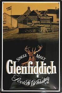 Blechschild Glenfiddich Single Malt