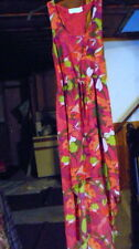 """""""DREAM OUT LOUD""""JUNIOR WOMANS SIZE SMALL MAXI HI/LO SUNDRESS PINK FLORAL NWT"""