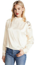 ~NEW~ Rachel Comey $425 Silk Esker Top sz 4