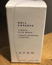 NOS Avon Nail Experts Liquid Real Silk Wrap   strengthener .4 oz 12 ml - NIB