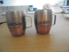 Jameson Irish Whiskey measure cups x 2