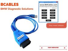 BMW USB FAULT CODE DIAGNOSTIC RESET TOOL AND READER ODB2