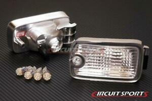 Circuit Sports Front Position Light Dual Post LED for Nissan 180SX Type-X