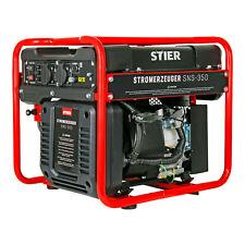 STIER Stromerzeuger SNS 350 Generator 10l Inverter Stromaggregat max 3500 W