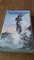 THE DAY AFTER TOMORROW - DENNIS QUAID, JAKE GYLLENHAAL VHS VIDEO