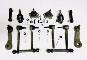 14pc Complete Front Suspension Kit for Chevrolet Trucks 4x4 / 4WD