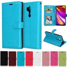 Slim Wallet Leather Flip Case Cover For LG G7 G8 K10 2018 G4 G5 G6 V40 V50 K40