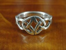 925 Ring Size 8 1/2 Celtic Knot Band Sterling Silver