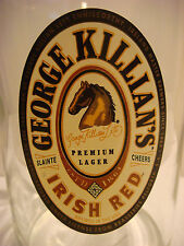 BEER Glass PINT GLASS >< George Killian's Irish Red >< Coors Brewing >< Colorado