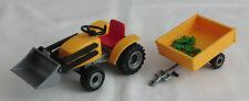 11158 - Playmobil aus Set 4486  Gartentraktor Trecker mit Anhänger siehe Foto