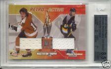 2001-02 Ultimate Retro Trophies Clarke & Mario Lemieux