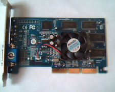 AGP card GeForce2MX Ver D 32MB GeForce 2MX 200 2X200 CVC-NGEFORCE2MX VGA