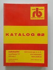 Radiobastler electroinic components rb Katalog 82