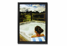 A4 Picture/ Photo/ Certificate Frame - Gloss Black Devon Frame