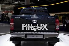 HILUX 1200mm LONGHORN DECAL**CHOICE OF COLOURS* Car Ute Truck Toyota RMW STICKER