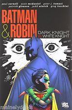 Batman & Robin Dark Knight vs. White Knight Hardcover Book New