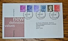 January 1981 First Day Cover New Definitive Stamps