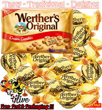 5g - 10kg Werther's Original Cream Candies Retro Sweet Traditional Boiled Sweets